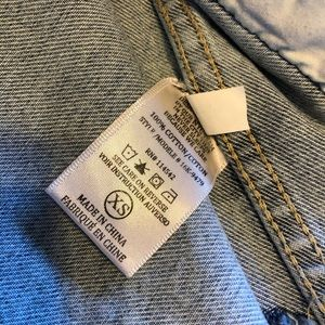 Blank NYC Jackets & Coats - Blank NYC Cropped Distressed Denim Jacket